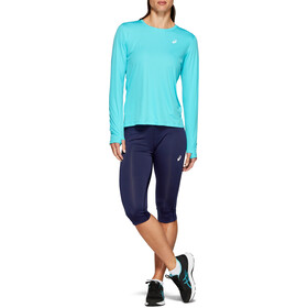 asics Silver Leggings pinocchietto Donna, peacoat